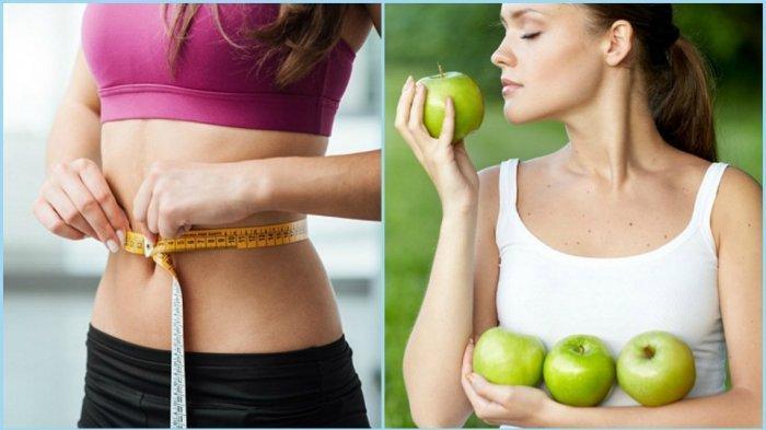 Ilustrasi diet perut