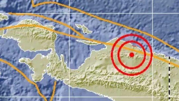 Mamberamo Tengah Papua Diguncang Gempa Cukup Besar, BMKG Imbau Waspada Gempa Susulan
