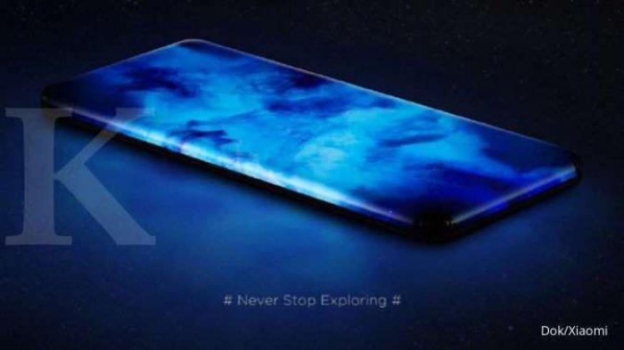 Xiaomi Bocorkan Konsep Ponsel Baru, Layar Lengkung di Empat Sisi dan Tanpa Port