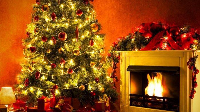 ILUSTRASI Pohon Natal