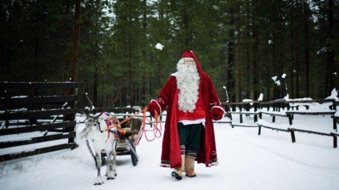 Sejarah Asli Sosok Sinterklas yang Selalu Muncul dari Cerobong Asap Setiap Natal, Siapakah Dia?