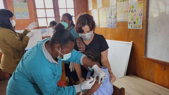 Pasca Nakes Diserang, Pemberian Imunisasi di Pegunungan Bintang Alami Kendala