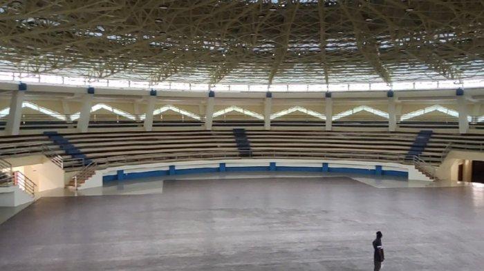 Indoor venue Cabor Pencak Silat PON XX Papua 2021