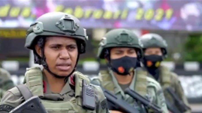 Jaga Keamanan Papua dari Serangan KKB, Brimob Kirim 6 Polwan Terbaik