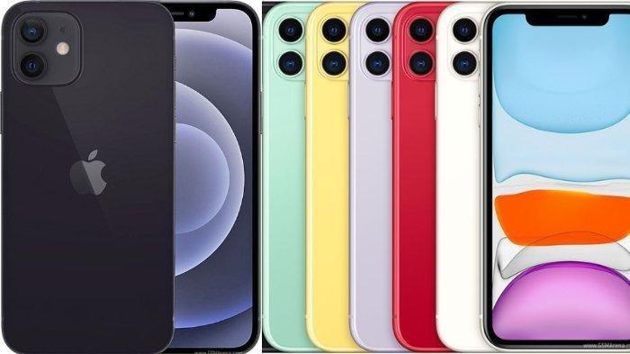 Simak Perbedaan Harga dan Spesifikasi iPhone 12 dengan iPhone 11