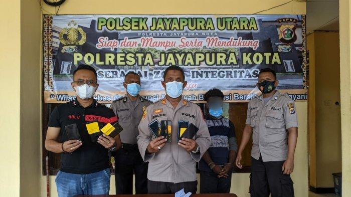 Awas! Pengangguran Usia 20 Tahun Jadi Spesialis Pencuri HP di Kota Jayapura