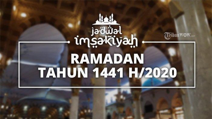 Jadwal Imsakiyah Wilayah Medan untuk 30 Ramadan 2020/1441 H, Cek Waktu Salat dan Buka Puasa