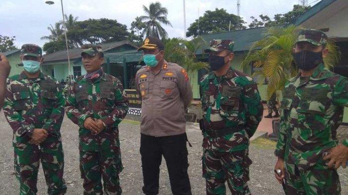 Dandim dan Kapolres Mimika Beri Arahan Bersama, Redam Pertikaian Oknum TNI-Polri di Papua