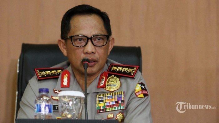 Tito Karnavian Mutasi 447 Personel Polri sebelum Dilantik Jadi Mendagri