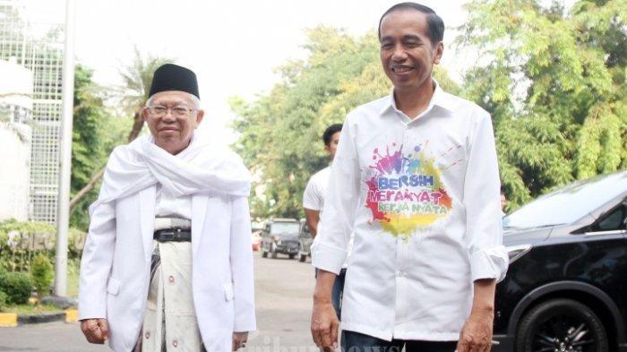 Singgung Kemenangannya saat Pilpres di Papua, Ma'ruf Amin Janji Jaga Kedamaian dan Keutuhan Papua