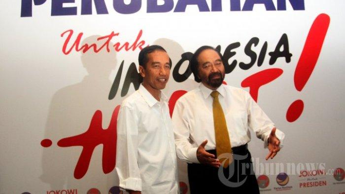 Kata Istana soal Jokowi yang Singgung Pelukan Surya Paloh dan Sohibul Iman: Enggak Menyindir