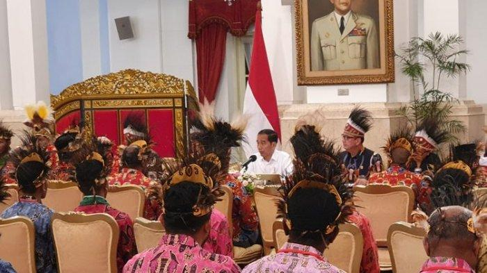 Ini 9 Permintaan Tokoh Papua saat Bertemu Presiden Jokowi di Istana Negara