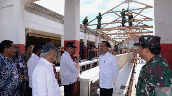Kunjungi Wamena, Jokowi Minta Rehabilitasi Infrastruktur Pasca-Kerusuhan Dipercepat