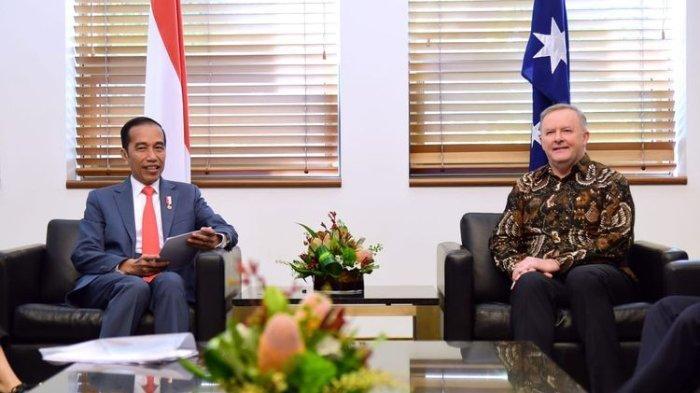 Jokowi Singgung Masalah HAM di Papua saat Bertemu Partai Oposisi Australia