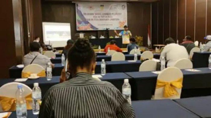 Paskalis Keagop Luruskan Soal Utang Pelatihan Jurnalis Peliput PON di Kabupatan Jayapura