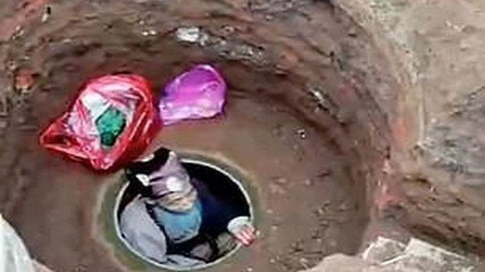 Gali Kuburan dan Tinggal di Dalamnya, Kakek Ini Putus Asa Tak Ingin Menjadi Beban Keluarga