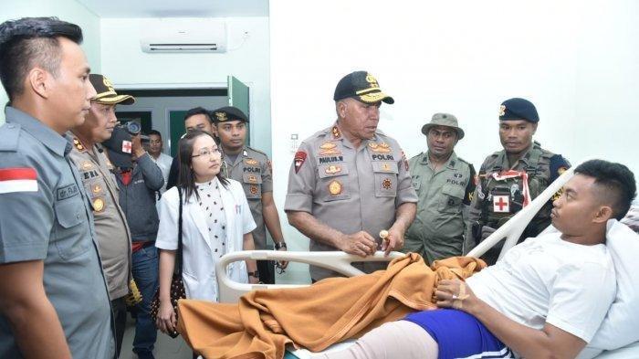 Ditembak KKB di Papua, Anggota Brimob Bharatu Luki Darmadi Jalani Operasi Tulang Paha