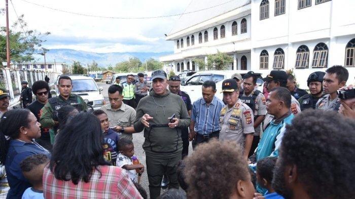 Pastikan Situasi Wamena Sudah Kondusif, Kapolda Papua: Saudara Bisa Kembali ke Rumah Masing-masing