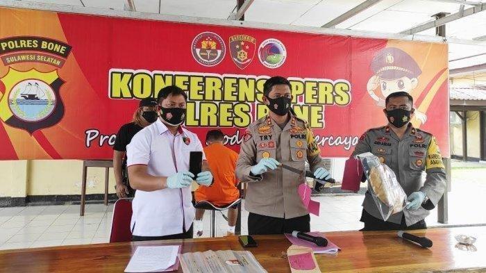 Suami yang Bunuh Istri di Bone 2 Bulan Jadi Buronan, Sempat Main Medsos, Kerja hingga Foto-foto