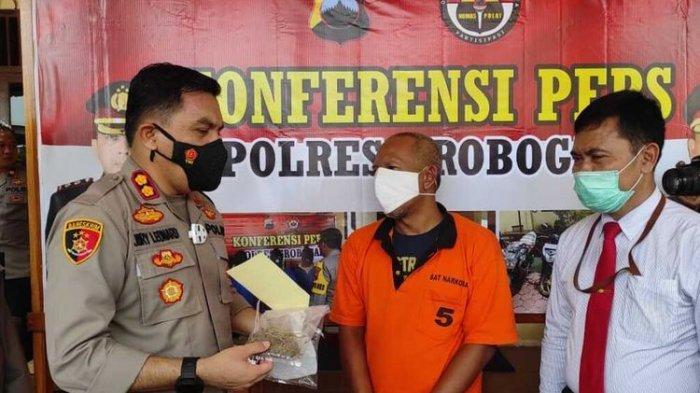 Kades di Grobogan Digerebek Polisi karena Hisap Ganja, Mengaku Ingin Tenang karena Banyak Pikiran