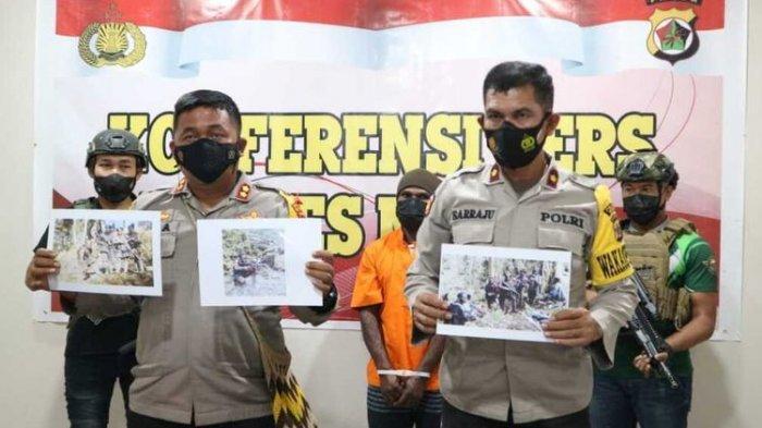 Seorang Anggota KKB yang Masuk DPO Ditangkap Aparat, Punya Rekam Jejak Kejahatan Sejak 2017