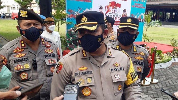 Kapolresta Solo Kombes Pol Ade Safri Simanjuntak di Solo, Jawa Tengah, Kamis (23/9/2021).
