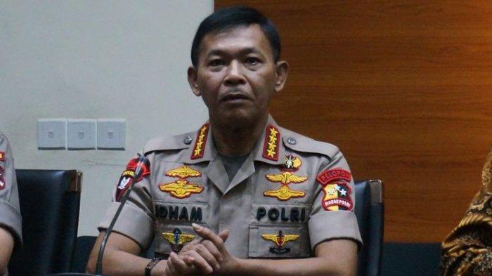 Reaksi Kapolri Idham Azis soal Anggota Polisi Ngamuk saat Ditegur Pakai Masker: Mutasi, Harus Keluar