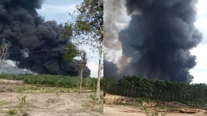 4 Orang Tewas dalam Kebakaran Sumur Minyak di MUBA, Perangkat Desa: 100 Meter Panas Api Terasa