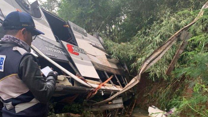 Kecelakaan Maut Bus Pariwisata di Sumedang, Jawa Barat