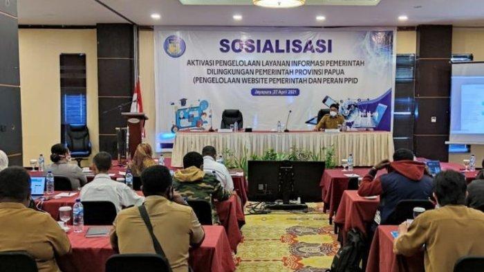 Informasi tentang Papua Didominasi Konflik, Pemprov Papua Minta OPD Ekspos perihal Pembangunan