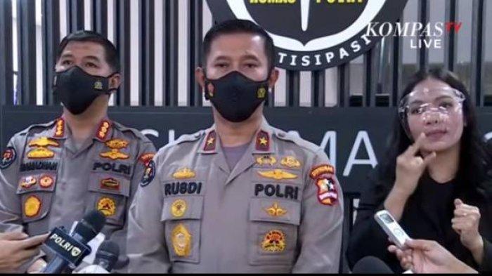 Kepala Biro Penerangan Masyarakat (Karopenmas) Divisi Humas Polri Brigjen, Rusdi Hartono.