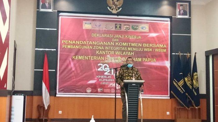 Ombudsman Menilai Kanwil Kemenkumham Papua Dapat Tingkatkan Kulitas Pelayanan Publik