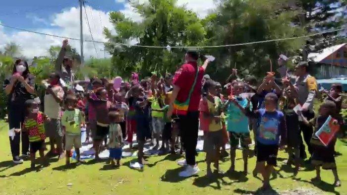 Binmas Noken Polri Bertemu Tokoh Masyarakat di Lembah Baliem Wamena, sekaligus Gelar Bakti Sosial