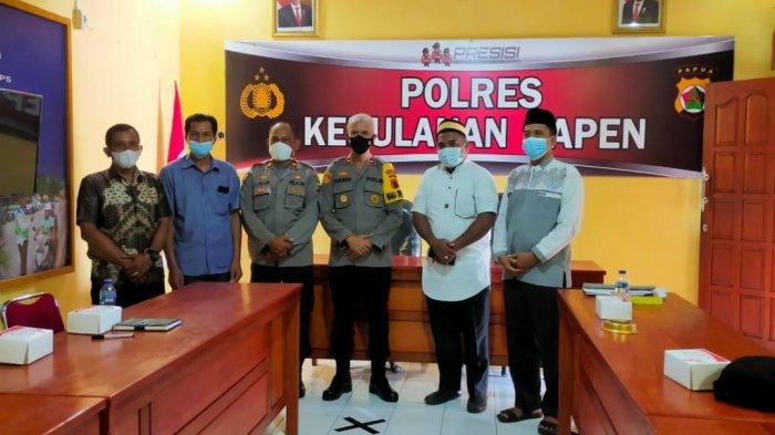 Polisi Tidak Berikan Izin Salat Idul Adha di Lapangan Terbuka di Serui Papua