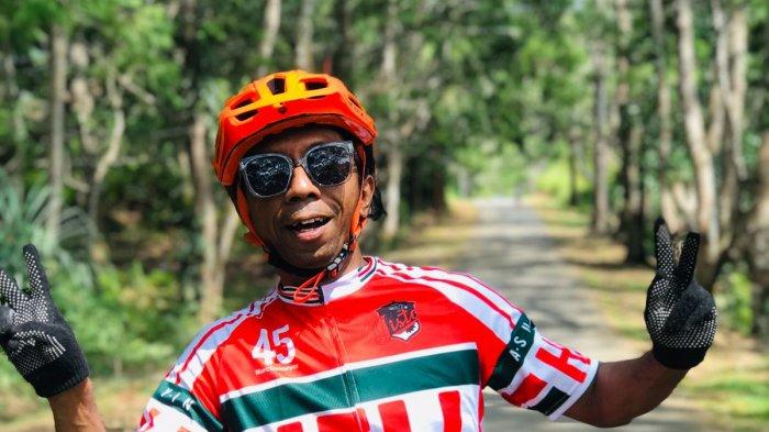 Ketua Komunitas KO'GAS Jayapura Robert Vanwi
