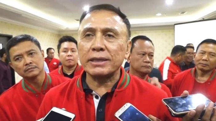 Ketua Umum PSSI, Mochamad Iriawan atau Iwan Bule