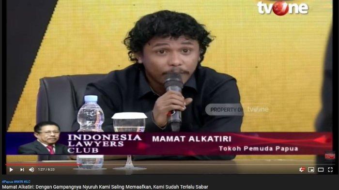 Di ILC, Mamat Alkatiri Sebut Orang Papua Sudah Balas Kebaikan Jokowi dengan Hal Ini