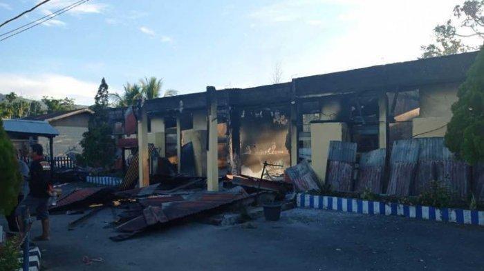 Warga dan Pelaku Pembakaran akan Bangun Kembali Mapolsek Nimboran, Ini Kata Kapolda Papua