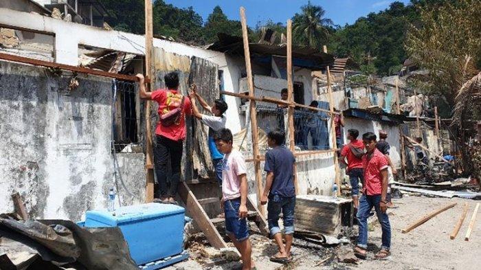 FOTO-FOTO Situasi Terkini Kota Jayapura Pasca Kerusuhan, Aktivitas Masyarakat Mulai Pulih