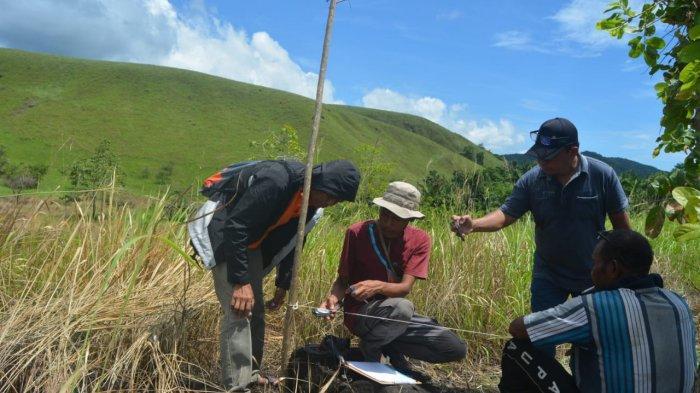 AGSI Papua Kunjungi Situs Pra Sejarah Khulutiyauw di Kampung Abar Sentani