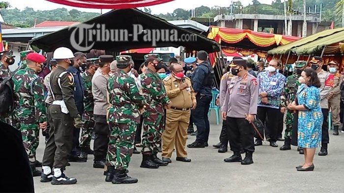 Panglima TNI dan Kapolri Tiba di Sorong, Tinjau Penanganan Covid-19 Papua Barat