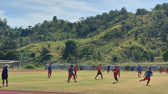 Latihan kedua Persipura Jayapura, Senin (22/3/2021) pagi