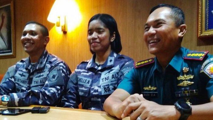 Pesan Letda Michelle Anggraeni untuk Pemuda Biak Papua, Berharap Banyak yang Jadi Anggota TNI AL