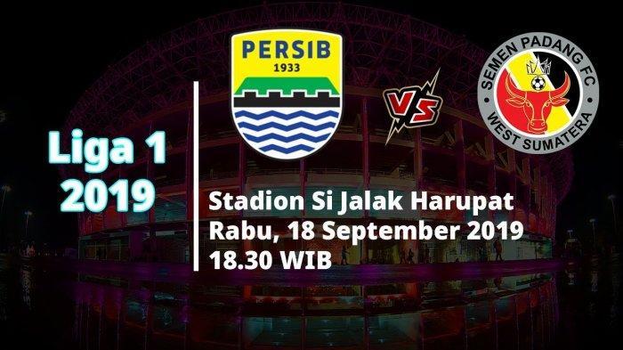 SESAAT LAGI! Video Live Streaming Persib Bandung Vs Semen Padang Liga 1 2019, Pukul 18.30 WIB