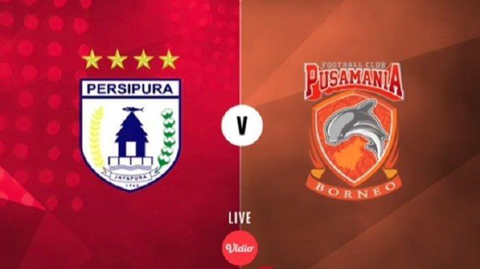 Sedang Berlangsung Ini Link Live Streaming Laga Borneo FC Vs Persipura Jayapura, Cek di Sini