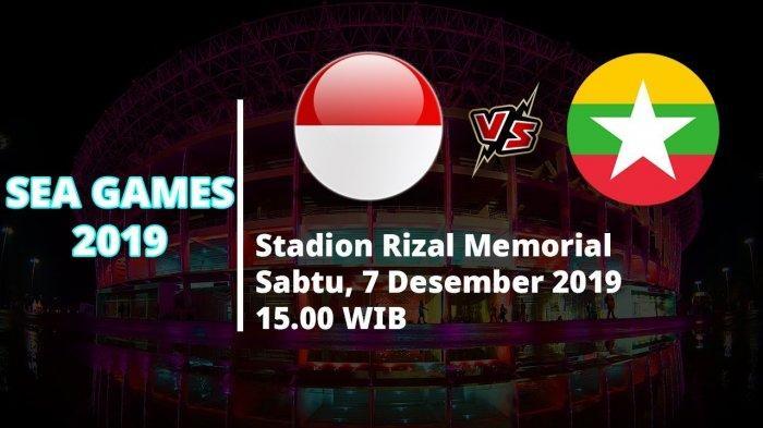 VIDEO Live Streaming Semifinal SEA Games Timnas U-23 Indonesia Vs Myanmar Pukul 15.00 WIB