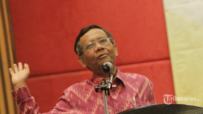 Soal Perppu KPK, Mahfud MD Akui Tak Miliki Visi Menteri: Di Posisi Ini Tentu Saya Menunggu Presiden