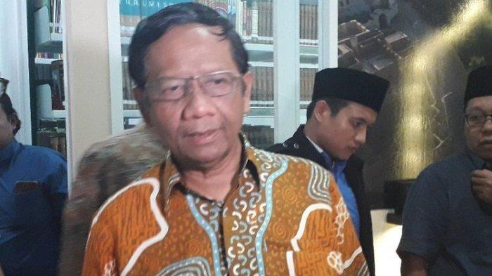 Mahfud MD Beri Kabar soal Surat Izin Perpanjangan FPI: Ada Permasalahan, Tak Bisa Dikeluarkan
