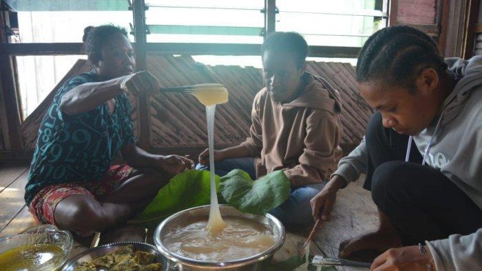 Papeda Panas dan Bungkus, Kuliner Khas Papua