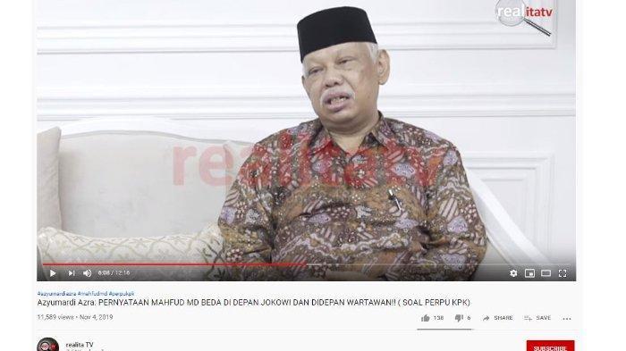 Mahfud MD Beri Pernyataan Berbeda di Depan Jokowi dan Media, Diungkap oleh Mantan Staf Wapres JK